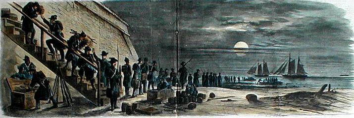Resultado de imagen de leaving fort moultrie