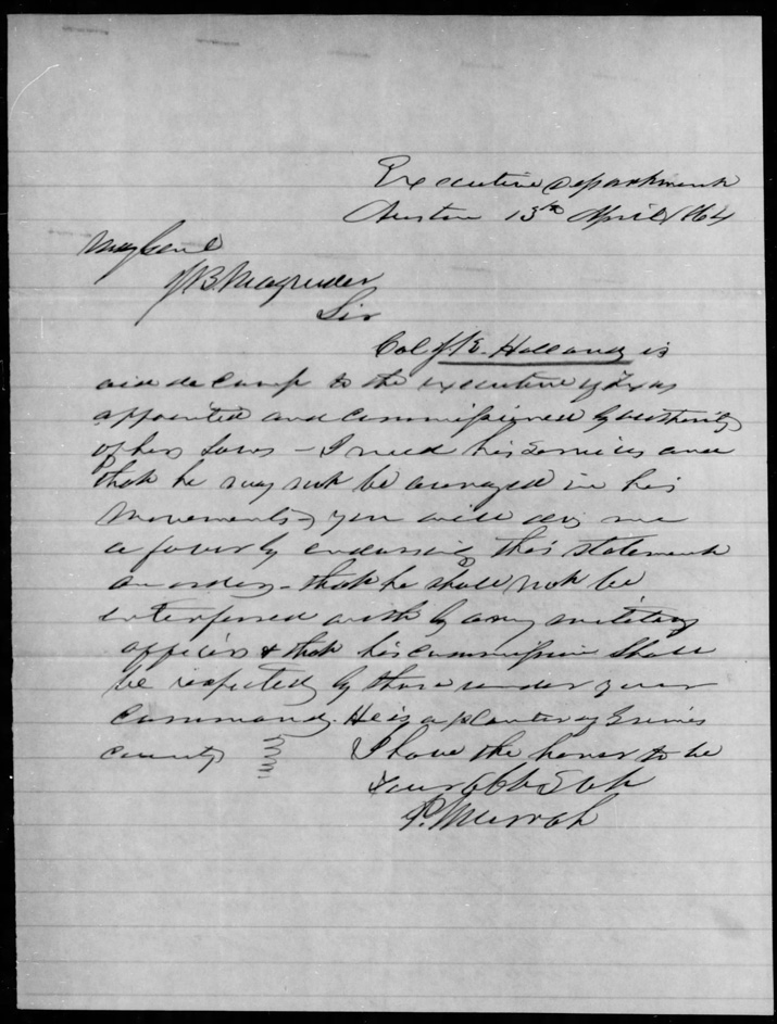 January 2011 dead confederates a civil war era blog governor murrahs letter fandeluxe Image collections